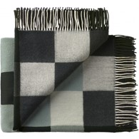 Silkeborg Uldspinderi plaid - Plain Beat Dark Greens