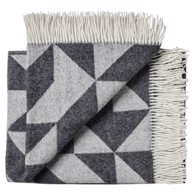 Silkeborg Uldspinderi Plaid - Twist A Twill Dark Grey