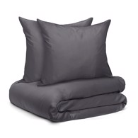 Wonder Living Sengetøj - Bambus Dark Grey 200x220 cm