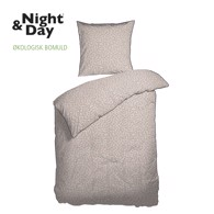 Night & Day junior sengetøj - Minnie Terracotta