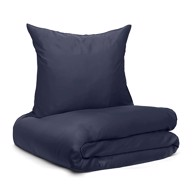 Wonder Living Sengetøj - Bambus Navy Blue