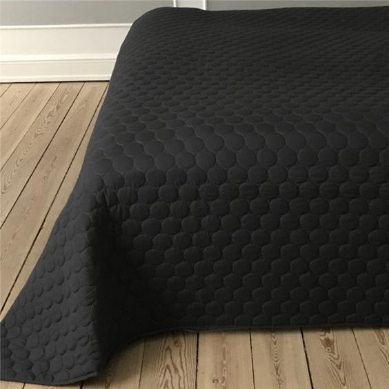 sengetæppe sort