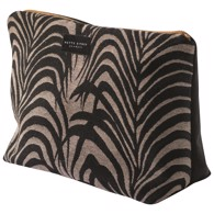 Mette Ditmer Toilettaske - Venus Palm leaves/black